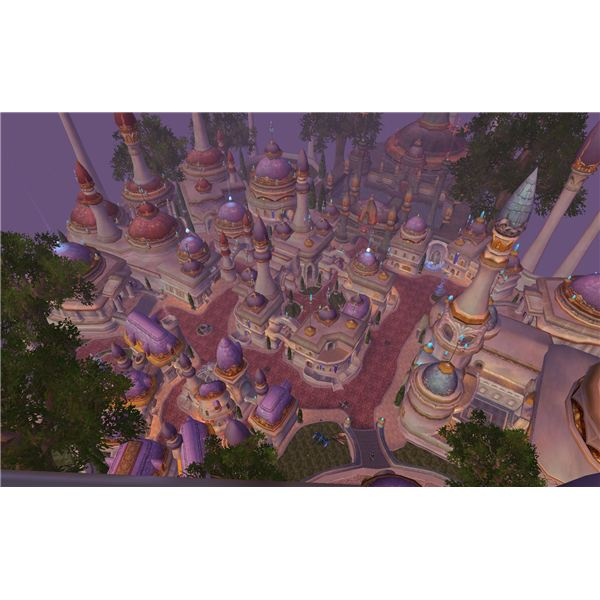 Aerial View of Dalaran