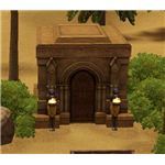The Sims 3 Mausoleum in Egypt