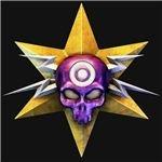halo medal skull pink head