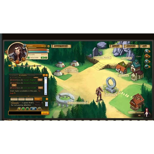 Browser MMO RPGs: eDragon Online Review