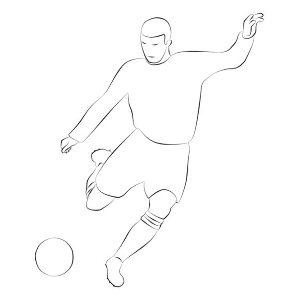 Digital Stamps: Football (Soccer)