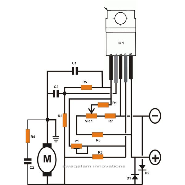 engine dc high voltage circuit