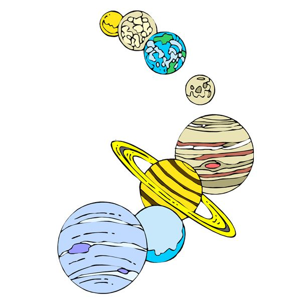 Art Lesson Ideas On The Solar System For Elementary Students