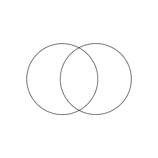 A Blank Venn Diagram Microsoft Word Can Create