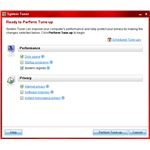 Figure 5 - Trend Micro Internet Security Pro 2010 - System Tuner