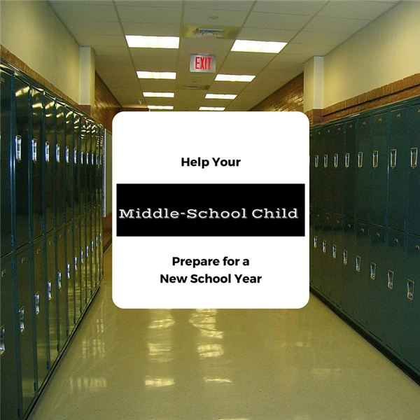 Help Your Middle-School Child Prepare for a New School Year