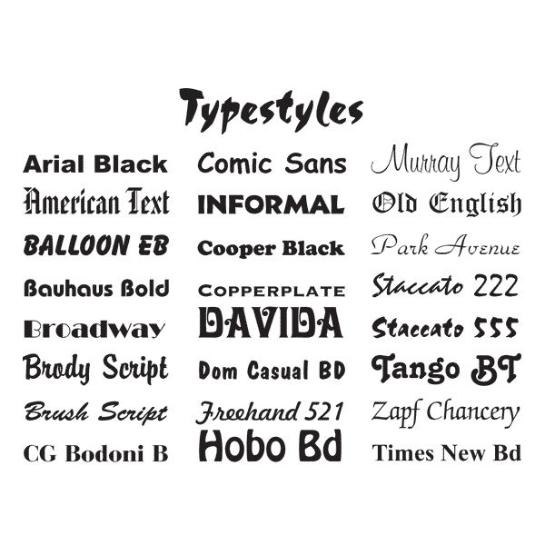 5 Families Of Typography History And Examples Each Style Family