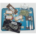 ISS Space Food On A Tray