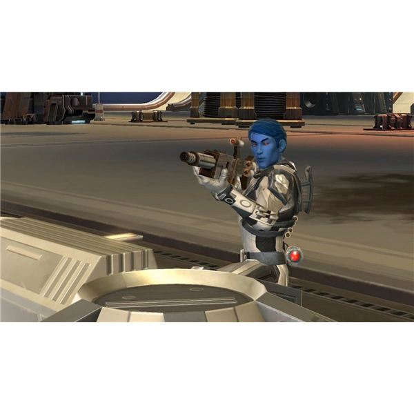 Imperial Trooper in Star Wars; The Old Republic