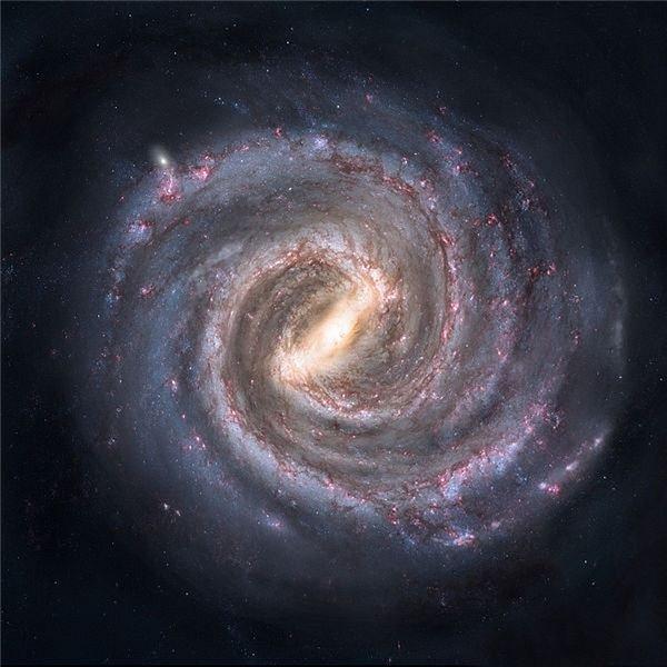 Artist's concept of Milky Way Galaxy - Nick Risinger