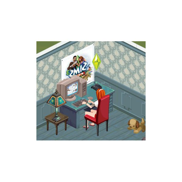 The Sims Social writing skill