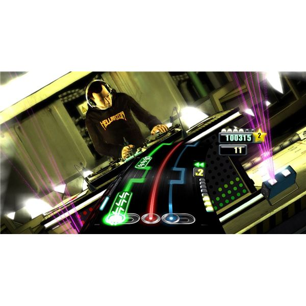 Challenge your DJ skills with songs that include crossfading