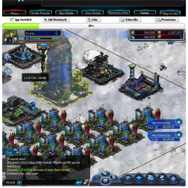 Facebook Game Guides: Galaxy Online II Structures Guide