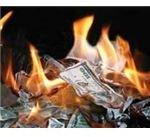 flickr, money burning, purpleslog