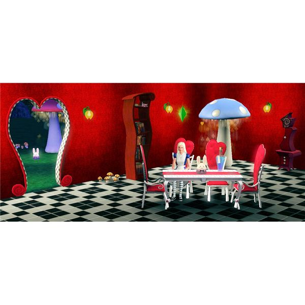 Download Alice in Wonderland Items for the Sims 3