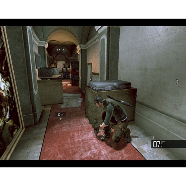 Tom Clancy's Splinter Cell: Conviction takes in various locations, from large houses to industrial installations