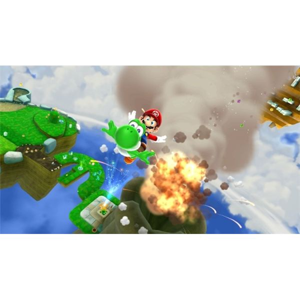Mario Galaxy 2 is One of the Best-looking Games on the Wii