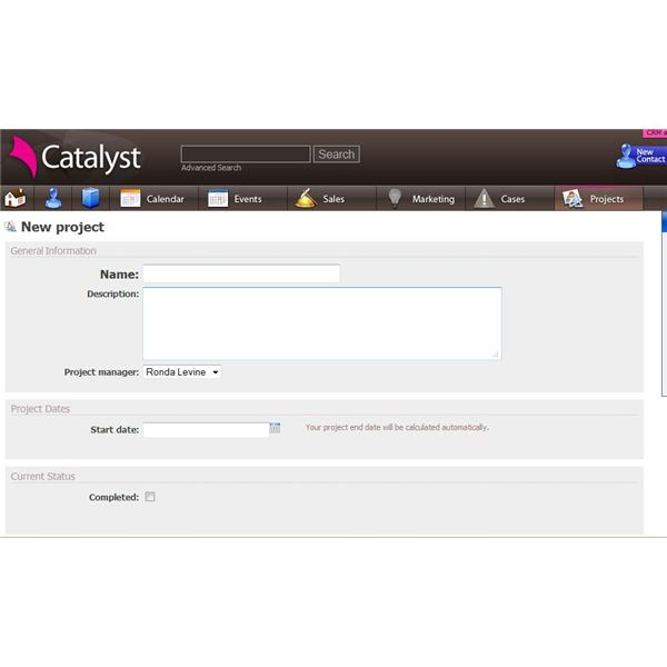 Catalyst CRM packs a powerful punch, allowing you to manage clients and projects in one place