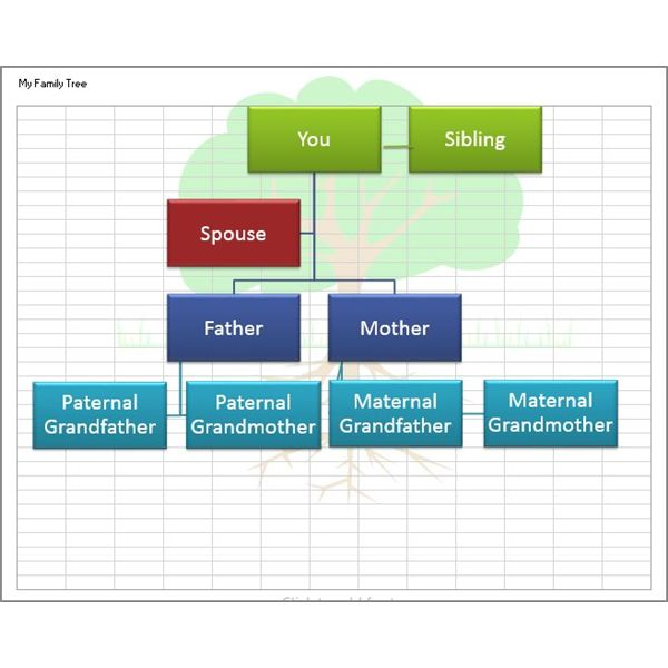 Create a family tree with the help of these free templates for Family tree templates with siblings