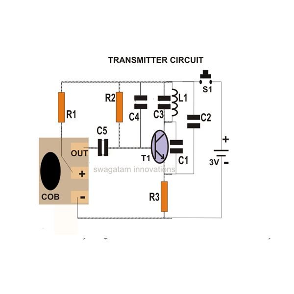 Pleasing How To Build A Simple Fm Wireless Remote Switch Wiring Digital Resources Funapmognl