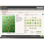 View the General Orders before sending your team onto the pitch in FIFA Manager 10