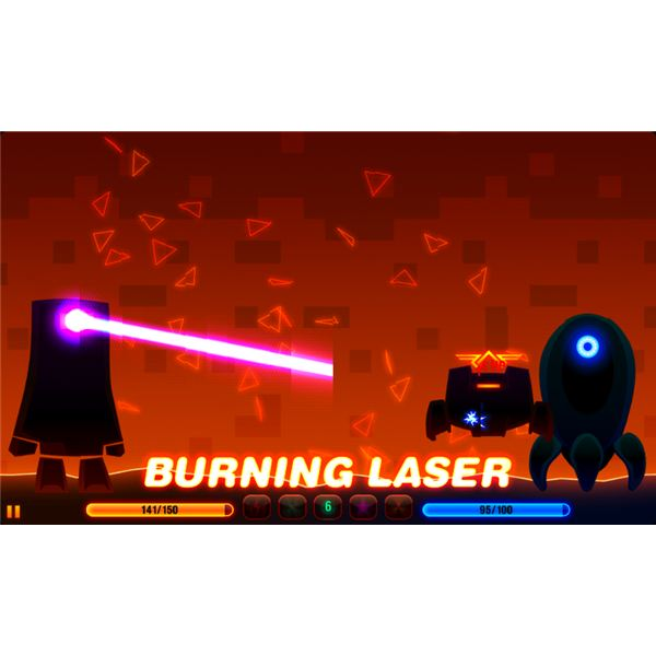 Robotek Burning Laser