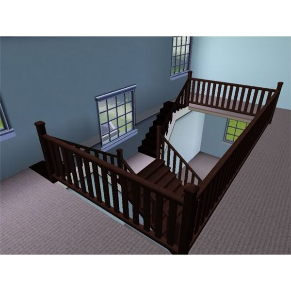 Sims  How To Build Stairs Outside