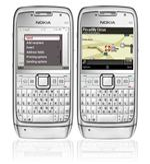 Ovi Maps on Nokia E71