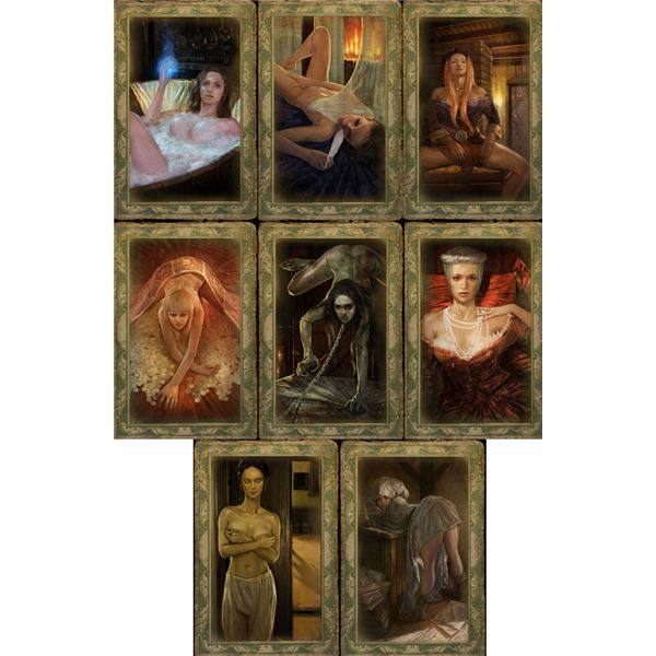 The Witcher sex cards chapter 3
