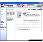 Identity Protection Window of ZoneAlarm