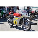 Mike Hailwood's 500cc Honda of 1966 from Wikimedia Commons by Michael
