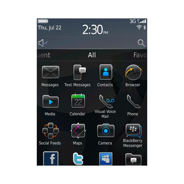 Blackberry OS 6 - RIM's New Look On Blackberry
