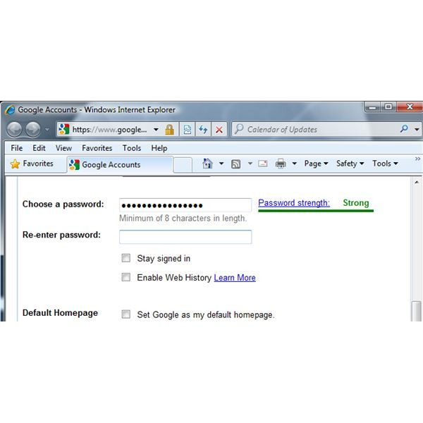 Creating and Using a Strong Hotmail Password as Your Password