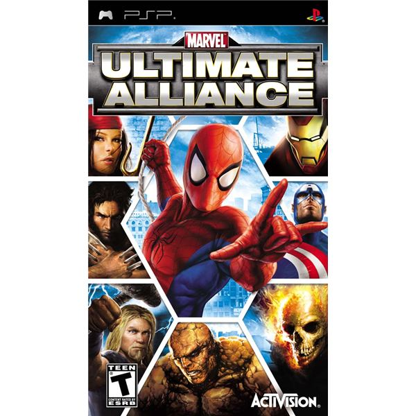 Marvel Ultimate Alliance Box