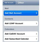 Add Mail Account - Other