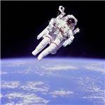Astronaut Bruce McCandless, Image courtesy of NASA