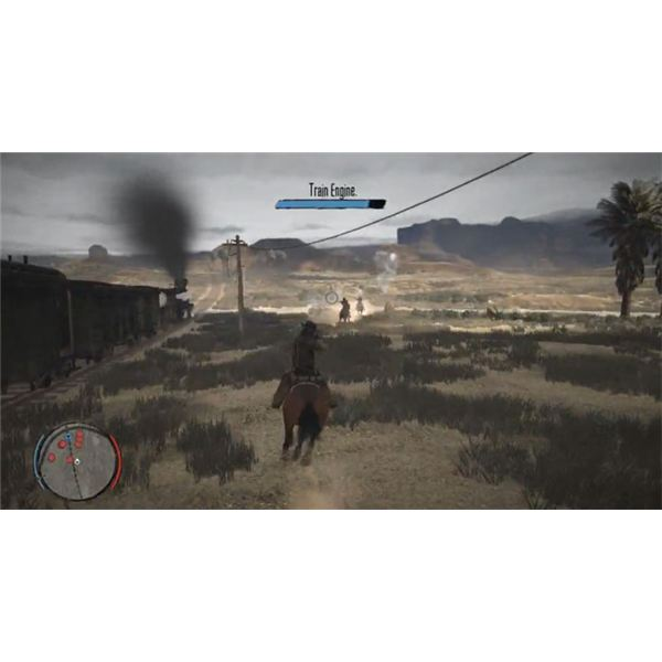 Red Dead Redemption Train Health Bar