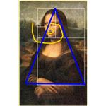 Mona Lisa with Golden Geometry