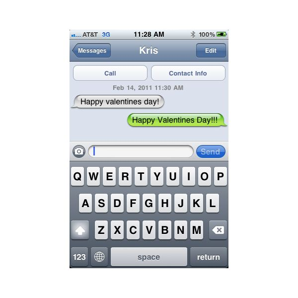 Compose Reply to Text Message