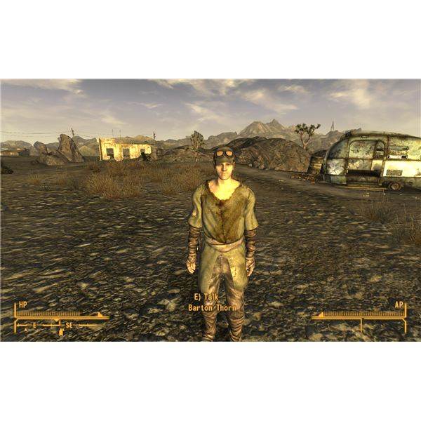 Fallout: New Vegas Walkthrough - Barton Thorn's Girlfriend