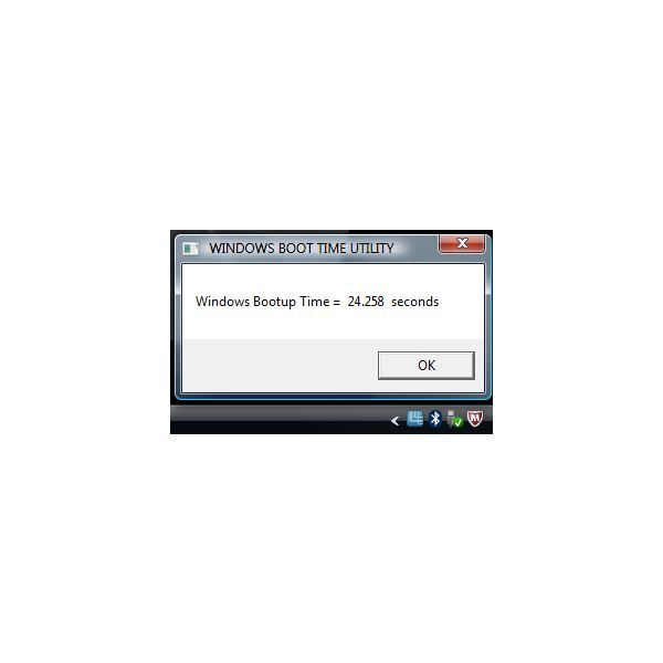 Windows Boot-time with McAfee Installed