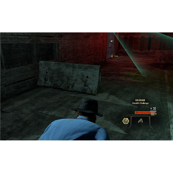 Alpha Protocol Walkthrough - Parker's Stealth Training - Slipping Past the Cameras