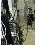 APC 10-outlet rackmount surge protector