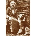 Beatrix Potter and Kep in 1915