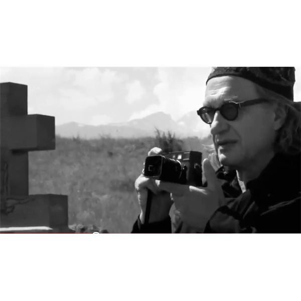 Wim Wenders on YouTube