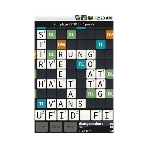 Wordfeud: Scrabble for Android