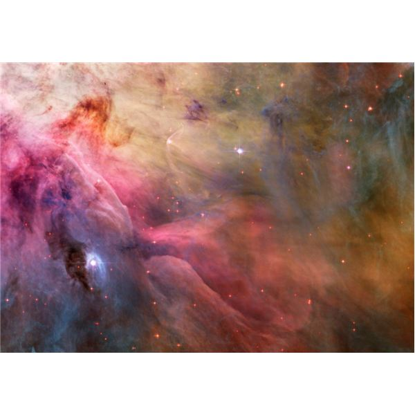 Star birth in Orion