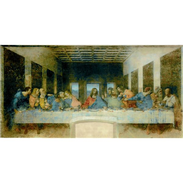 Leonardo da Vinci (1452-1519) - The Last Supper (1495-1498)