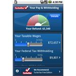 TaxCaster for Android phones
