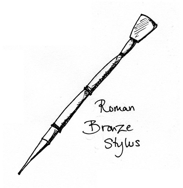 Roman Bronze Stylus